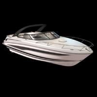 motorboat boat recreational 3d x