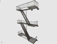 escape 3d model