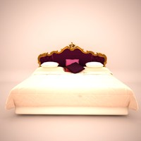 versace venice bed 3d 3ds