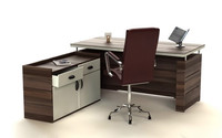photoreal office desk chair 3d model