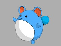 marill pokemon 3d 3ds