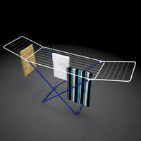 clothes dryer 3d max