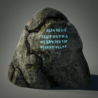 3d relic stone