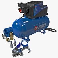 3ds max compressor campbell hausfeld
