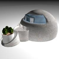 max igloo house stucco