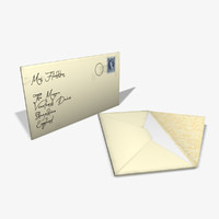 selection rigged envelopes 3d model