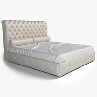 3ds max donna mantellassi parisienne bed