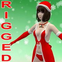 maya t-pose mariko christmas costume