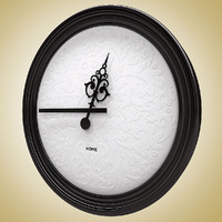 3d wall clock moooi 2 model