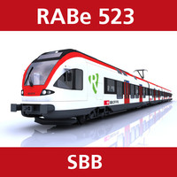 c4d rabe 523 passenger train