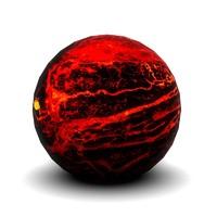 3ds max lava planet