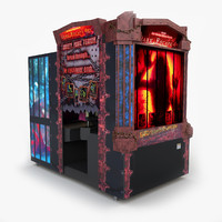 3d video arcade model