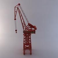 carola crane 3d model