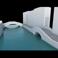 3d real bridges model