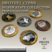 3ds max silver brothel coins state
