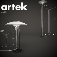 floor jl2l artek lamp 3d model