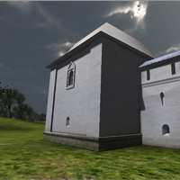 castle build fort 3d model