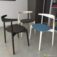 3d ch20 elbow chair hans wegner model