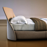 giorgetti - altea bed 3d model
