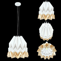 orikomi lamp 3d 3ds