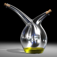 Mojoo oil and vinegar glass cruet 2