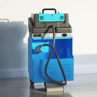emission tester 3d max