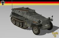 3d sdkfz 253 model
