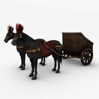 max horse chariot