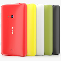 Nokia Lumia 625 All Colors