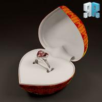 3d st valentine s model