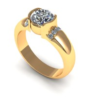 3d model diamond jewelry