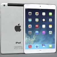 apple ipad air mini 3d model