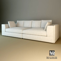 3d model eichholtz sofa vermont
