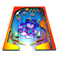 3d model pinball
