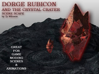 rubicon crystal crater 3d 3ds