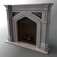 marble mantle 3d max
