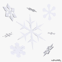 3ds max snowflake crystal