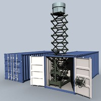 3d model club-k radar