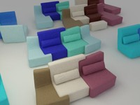 confluences sofa 3ds