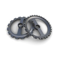 3d gear 03 industrial steam