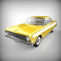 3ds max falcon automobile