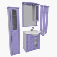 bathroom furniture 3d model