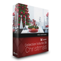 CGAxis Models Volume 39 Christmas