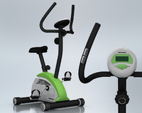 3d model cycle magnetic exercise machine