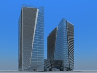 3ds max building city