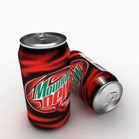 3d mountain dew model