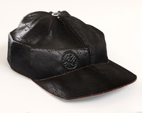leather cap obj