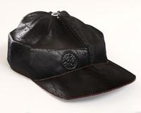 leather cap obj
