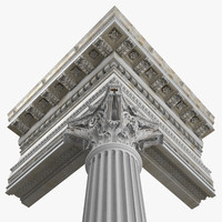 Corinthian With Entablature