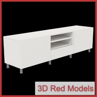 free tv storage 3d model